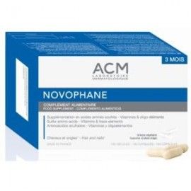 novophane 180 capsulas de ACM laboratories