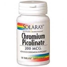 Solaray Chromium picolinato 200 mcg 50 g