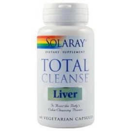 Total cleanse liver 60 capsulas Solaray