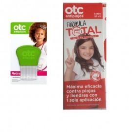 Formula total Otc antiopiojos con liendrera