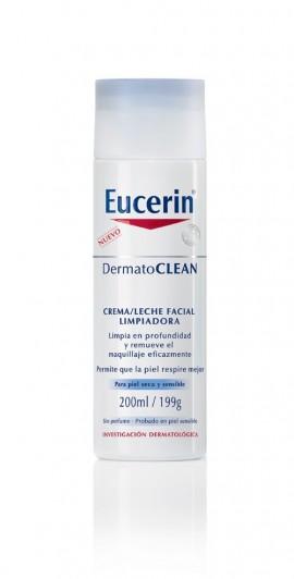 Eucerin dermatoclean emulsión limpiadora suave 200 ml
