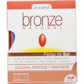 Bronze natural 30 perlas drasanvi