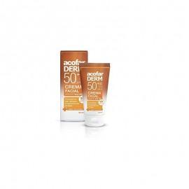 Acofarderm crema facial sin color SPF 50+ 50ml
