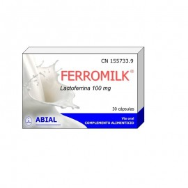Ferromilk lactoferrina 100mg 30 cápsulas