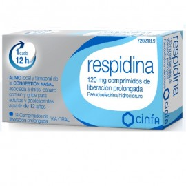 Respidina 120mg 14 comprimidos