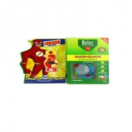 Relec pulsera antimosquitos flash 2 recargas