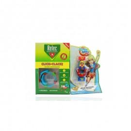 Relec pulsera antimosquitos supergirl 2 recargas