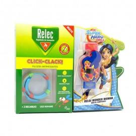 Relec pulsera antimosquitos wonder woman 2 recargas