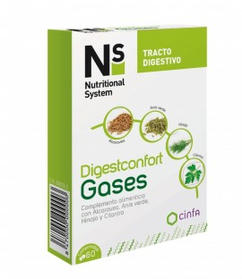 Ns digesconfort gases 60 comp.