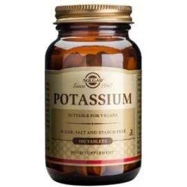 solgar potasium  100 comprimidos