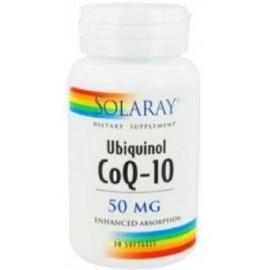 coenzima q10 de Solaray -ubiquinona- 30 perlas