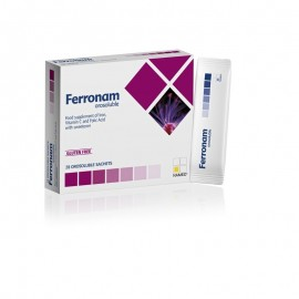 Ferronam orosoluble 28 sobres