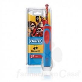 Cepillo oral b eléctrico infantil los increibles 2