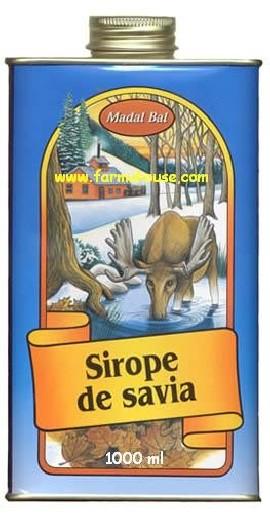 Sirope de Savia. 1000 ml