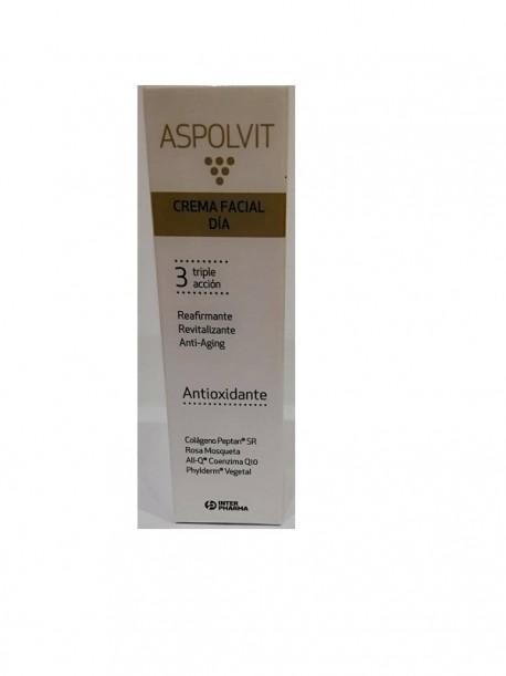 Aspolvit crema facial día triple acción 30ml