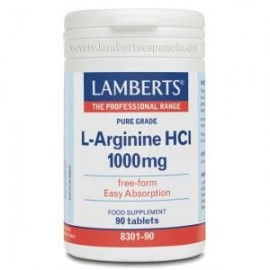 lamberts L arginina 1000 mg 90 capsulas