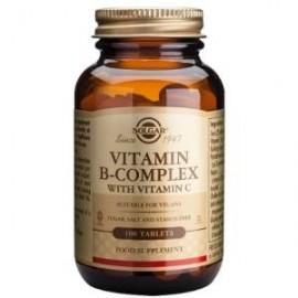 solgar b complex y vitamina c 250 comprimidos
