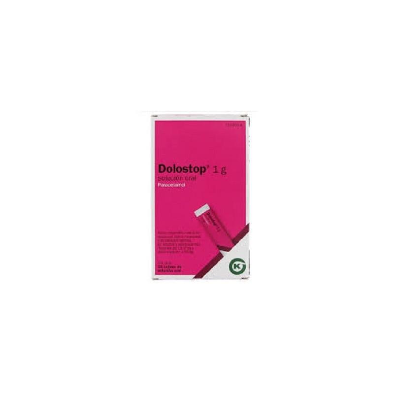 dolostoop 1g 10 comprimidos