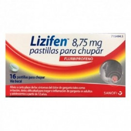 lizifen comprimidos para chupar