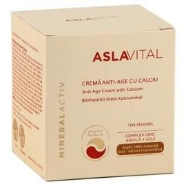 crema antiedad con calcio 50ml aslavital