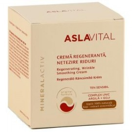 crema antiiarrugas regeneradora de noche 50 ml aslavital