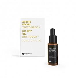 ku dry oil aceite  facial tacto seco de botanicapharma
