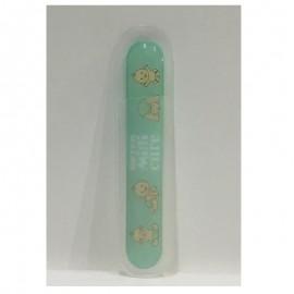 lima de vidrio templado para bebes beter color verde
