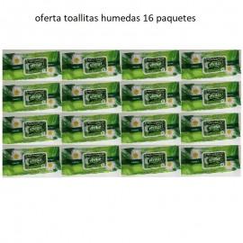 vivitas caja 16 paquetes toallitas