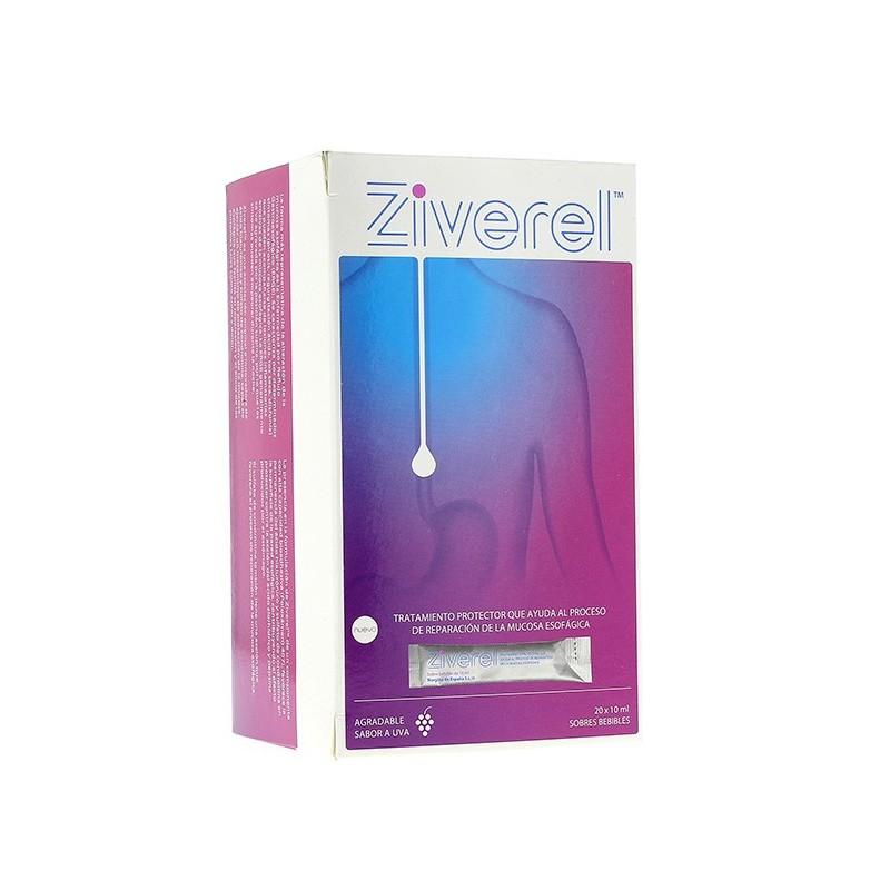 ziverel 20 sobres bebibles x 10ml