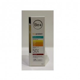 Cinfa Be+ Fotoprotector Gel Facial Piel Grasa SPF50+ 50 ml