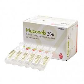 Muconeb 3 % solución salina 4ml 30 monodosi