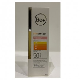 Be+ skinprotect piel alergica spf50 Mineral 100%