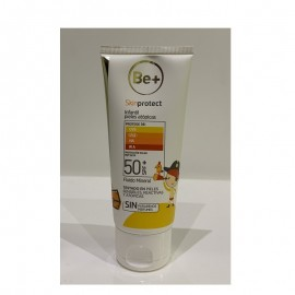 Be+ skinprotect protector solar infantil piel atópica dry touch spf50 ,100ml