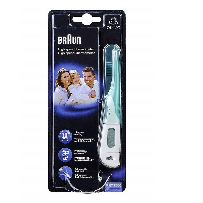 termometro digital punta flexible braun