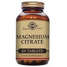 citrato de magnesio solgar 120 comprimidos