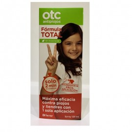 formulta total Otc antiopiojos 125ml