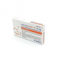 NORMOGASTROL 20 MG 14 COMP