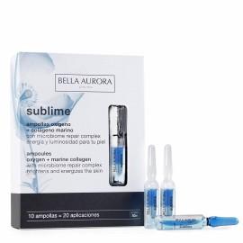 Bella Aurora  sublime oxigeno colageno 10 ampolllas