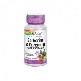 berberina y curcuma  solaray