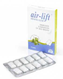 Air lift chicles para el mal aliento