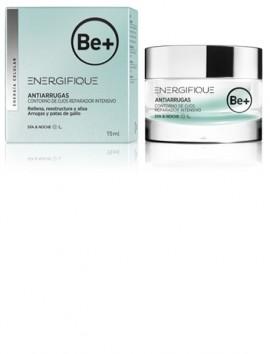 Crema Be+ Antiarrugas contorno de ojos reparaador intenso 15 ml