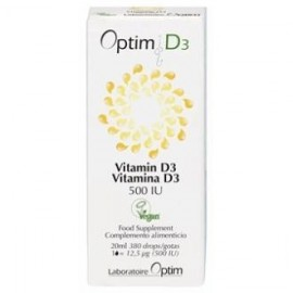 optim d3 vegetal vegan drops 20ml