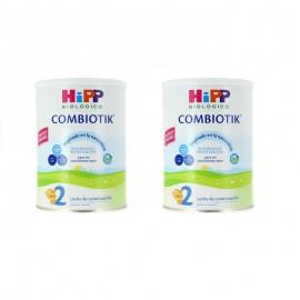 leche HIPP COMBIOTIK 2 BIPACK (2 ENVASES 800 GR) -LECHE BIOLOGICA COMBIOTIK 2