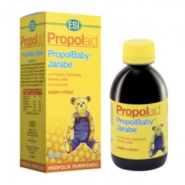 Propolaid Propolbaby Jarabe sabor fresa 180ml