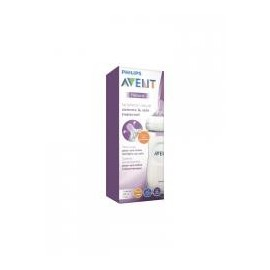 Biberon Avent Natural 6m+ 330ml Tetina Ancha Flexifle y anticolapso 036/17
