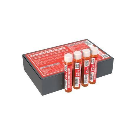Aminofit 8000 20 ampollas