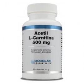 douglas acettil L carnitina 60 capsulas