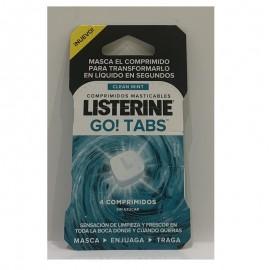 Listerine go tabs comprimidos