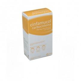 Cinfamucol carbocisteina 750 mg 12 sobres