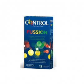 CONTROL SEX SENSES FUSSION 12 CONDOMS